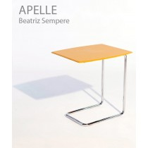 Table à café APELLE, Cuir, Design Beatriz Sempere