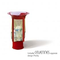 Corbeille CEVENNES, version Vigipirate, 60 L, ProCity