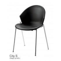 Chaise empilable City S, Design Studio MIDJ