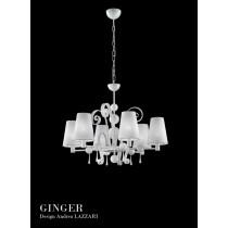 GINGER LA6, Lustre, Design Andrea LAZZARI