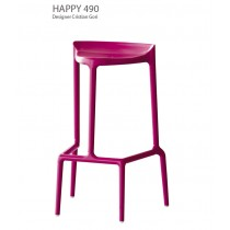 Tabouret empilable HAPPY 490, Design Cristian GORI