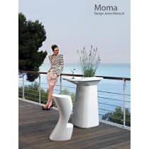 Table haute et tabouret MOMA, Design Javier MARISCAL