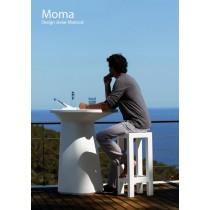 Ensemble Table haute MOMA et tabouret JUT, VONDOM