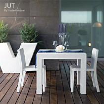 Ensemble de jardin JUT, 1 Table, 2 Chaises, Design by Studio VONDOM