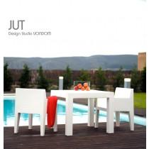 Ensemble de jardin JUT, 1 Table, 2 Fauteuils, Design by Studio VONDOM