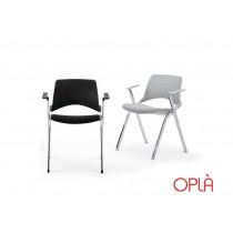 Chaise empilable pliante OPLA BR, IBEBI Design