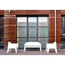 Ensemble de jardin PLUS AIR 636 et 630, Design Alessandro BUSANA