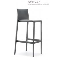 Tabouret empilable VOLT 678, Design CLAUDIO DONDOLI AND MARCO POCCI