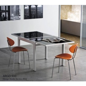 Table ARGO déployante 90-180 x 90 cm, MIDJ