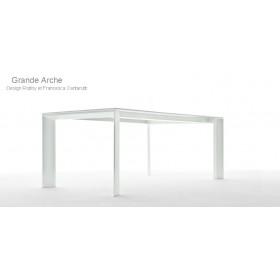 Table Grande ARCHE en Aluminium, 220x100 Cm, FAST Spa