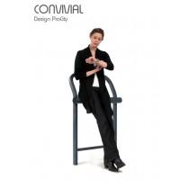 Assis debout CONVIVIALE, Acier, L 77,6 cm,  ProCity