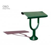 Banquette assis debout OSLO, Acier, L 90 cm,  ProCity