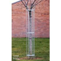 Corset pour arbre, Acier  galvanisé, H 1.5 m, Ø 25 cm, Design ProCity