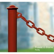 Potelet à chaîne, 1 anneau,  Ø 76 mm,  Design ProCity