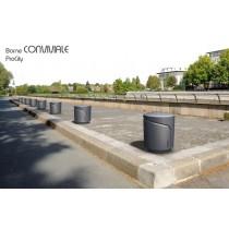 Bornes fixes CONVIVIALE RONDE, Ø 300, H 360 mm, Fonte, Design ProCity