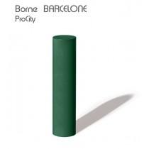 Borne fixe BARCELONE conforme à l'Abaque, Ø 160 mm, H 70 cm, Fonte, Design ProCity