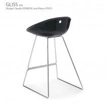 Tabouret GLISS 902, H. 65 cm, Designers Claudio Dondoli and Marco Pocci