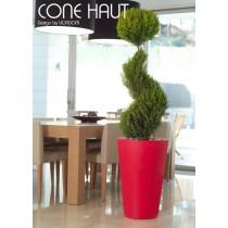 Grand pot AIGUA Cône haut, H 80 Cm, Design by Studio VONDOM