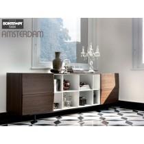 Buffet AMSTERDAM 15.22, Chêne Spessart, 260x53x83 cm, Design by BONTEMPI CASA