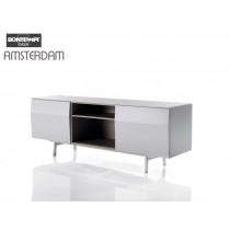 Buffet AMSTERDAM 15.08, Bois laqué, 195x53x72 cm, Design by BONTEMPI CASA
