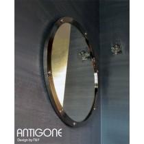 Miroir ANTIGONE, Acier chromé, D 84 cm,  Design by T&Y