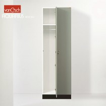 Vestiaires AQUARIUS HG 2301 P, 2 casiers Bois, 30x52 H 190 cm, VAN ESCH