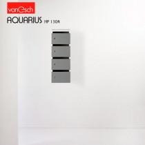 Boites à lettres AQUARIUS HP 1304, 4 casiers Bois, 30x42 H 82 cm, VAN ESCH