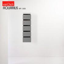 Boites à lettres AQUARIUS HP 1305, 5 casiers Bois, 30x42 H 82 cm, VAN ESCH