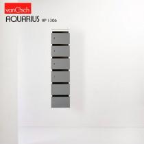 Boites à lettres AQUARIUS HP 1306, 6 casiers Bois, 30x42 H 82 cm, VAN ESCH