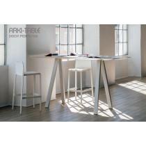 Table haute ARKI-TABLE, 200 x 80, H 110 cm, Design by PEDRALI R&D