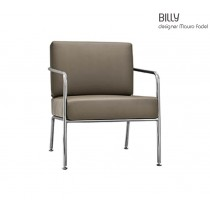 Fauteuil lounge BILLY 1TS, Design Mauro FADEL