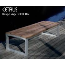 Banc CETRUS 03, Outdoor, 180X61 cm, Design Sergi FERNANDEZ