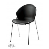 Chaise empilable City S, Design Studio MIDJ