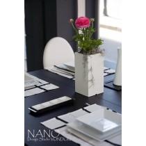 Vase NANO, Carré haut, H 36 cm, Design Studio VONDOM