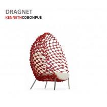 DRAGNET, Fauteuil lounge, Design Kenneth COBONPUE