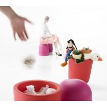 Tabouret / Corbeille DUO, IBEBI Design