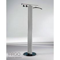 Porte manteaux FARGO FP1, Aluminium, ( cintres et crochets optionnels ) Design by Pascual SALVADOR