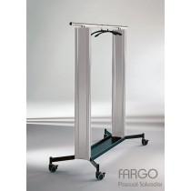 Chariot porte manteau FARGO FC 1, Aluminium, Design by Pascual SALVADOR