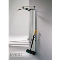Porte manteaux FARGO FM 1P, porte parapluies, Aluminium, Design by Pascual SALVADOR