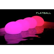 FLATBALL Flottante à LED Rechargeable, Design by Smart and Green