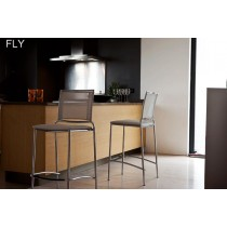 Tabouret FLY H 65, empilable, Design Mauro FADEL pour MIDJ