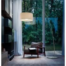 Lampadaire FOG TE A plissé, Design Andrea LAZZARRI