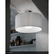 Plafonnier FOG PL 50 plissé, Design Andrea LAZZARRI