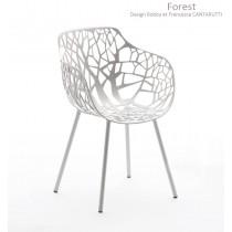 Fauteuil FOREST en Aluminium, Design Robby et Francesca Cantarutti