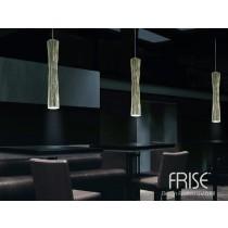 Suspension FRISE SO1 Or, (vue de 3 suspensions ) Design Andrea LAZZARRI