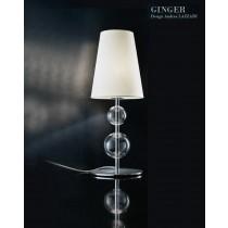 GINGER CO,Verre soufflé et Métal, Design Andrea LAZZARI