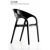 Fauteuil empilable GOSSIP, Designers Claudio Dondoli et Marco Pocci