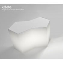 Bar ICEBERG, avec Kit d'éclairage, Designer Claudio Dondoli et Marco Pocci