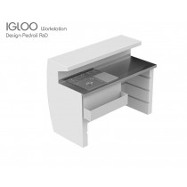 Bar IGLOO IGL WORKSTATION, Designer PEDRALI R&D