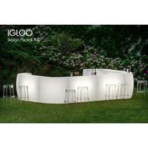 Bar lumineux IGLOO, 4,6 X 3,2 M,Designer PEDRALI R&D